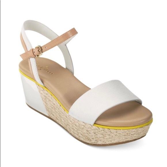 ed5e90717946 Cole Haan Shoes - Cole Haan Arden Platform Wedge Espadrille Sandal